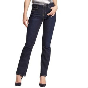 Mossimo Women's Mid Rise Modern Bootcut Jeans 14 S